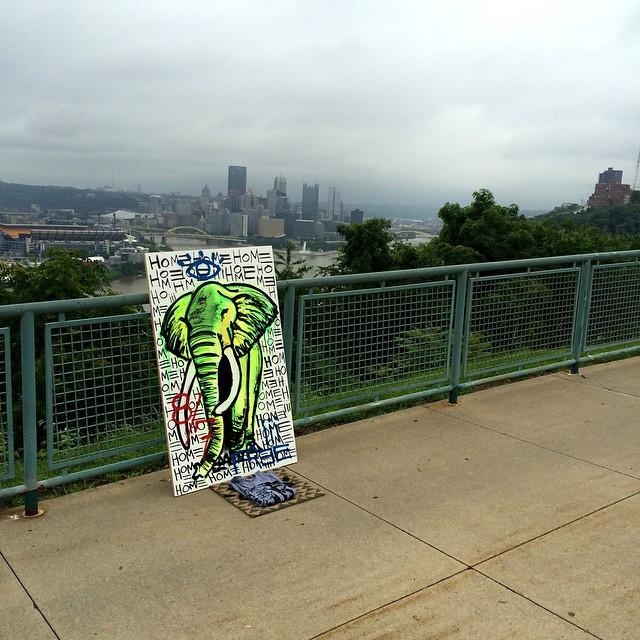 Baron Batch- Art- Free art- Pittsburg- Art drop free