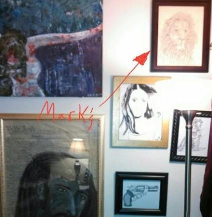 Mark Lemon- Lion Drawing