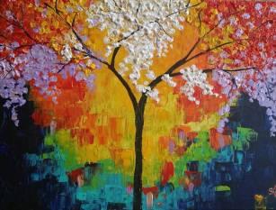 Samantha Lemon Tree Painting